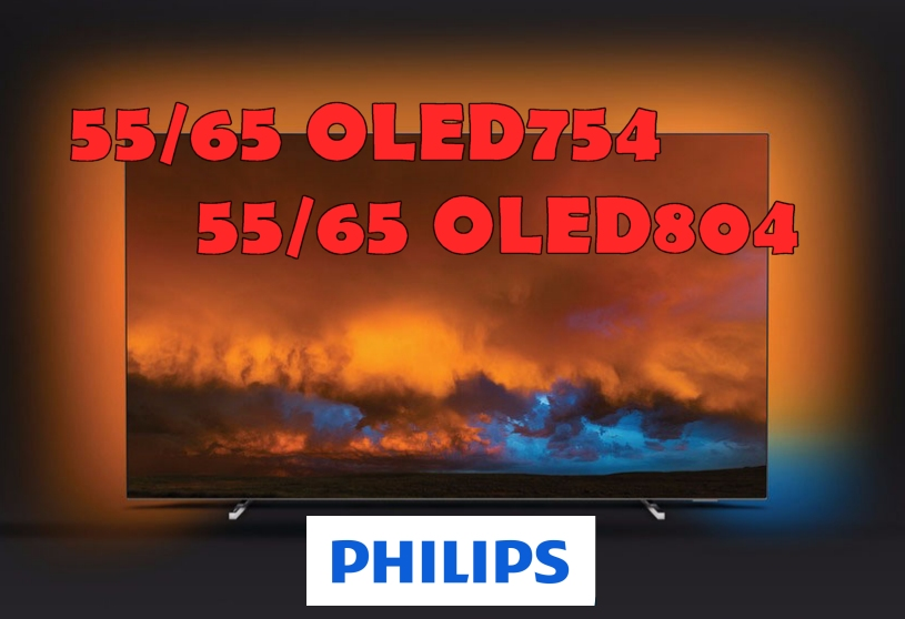 AMBILIGHT DAYS PHILIPS OLED754 OLED804
